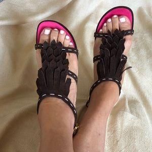 Dsquared2 Fringe shoes.